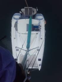 Réparation en tête de mât