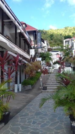 Rue de Gustavia - St Barth