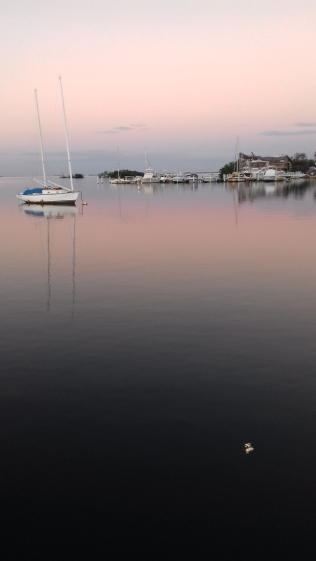 Baie de Salinas au petit matin