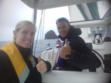 Dernier petit tour en mer au Diamant, sous la pluie Martiniquaise